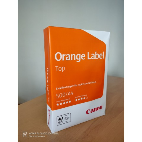 Копирна хартия Canon Orange Label Top A4/500 л