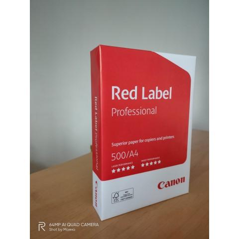 Копирна хартия Canon Red Label Professional A4/500 л.