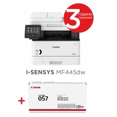Canon i-SENSYS MF445dw + Canon CRG-057