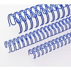 "Renz Метални гребени 2:1, 5/8"", Ø=16,0 mm, сини, 23 ринга"