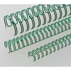 "Renz Метални гребени 2:1, 5/8"", Ø=16,0 mm, зелени, 23 ринга"